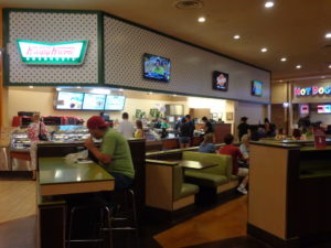 Fachada do Krispy Kreme