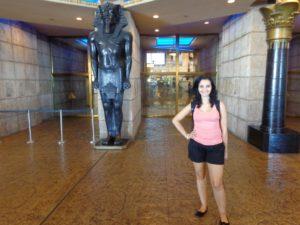 Entrada do Luxor