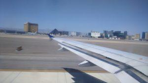 Saindo de Las Vegas rumo a São Franscisco