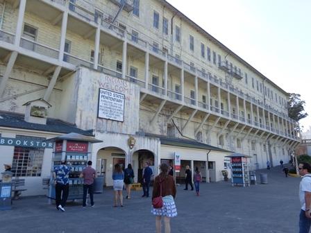 Chegando em Alcatraz