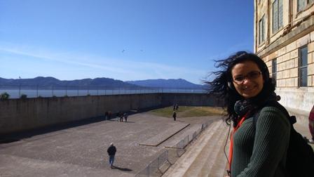 Pátio de Alcatraz
