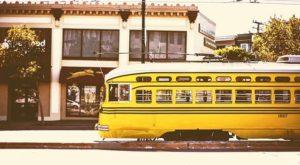 Histórico Streetcar em San Francisco