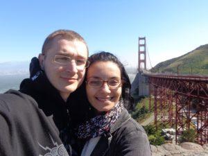 Ponte Golden Gate ao fundo